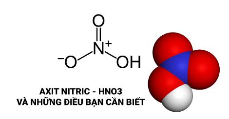 Tìm hiểu về Axit Nitric - HN03 và những điều bạn cần biết