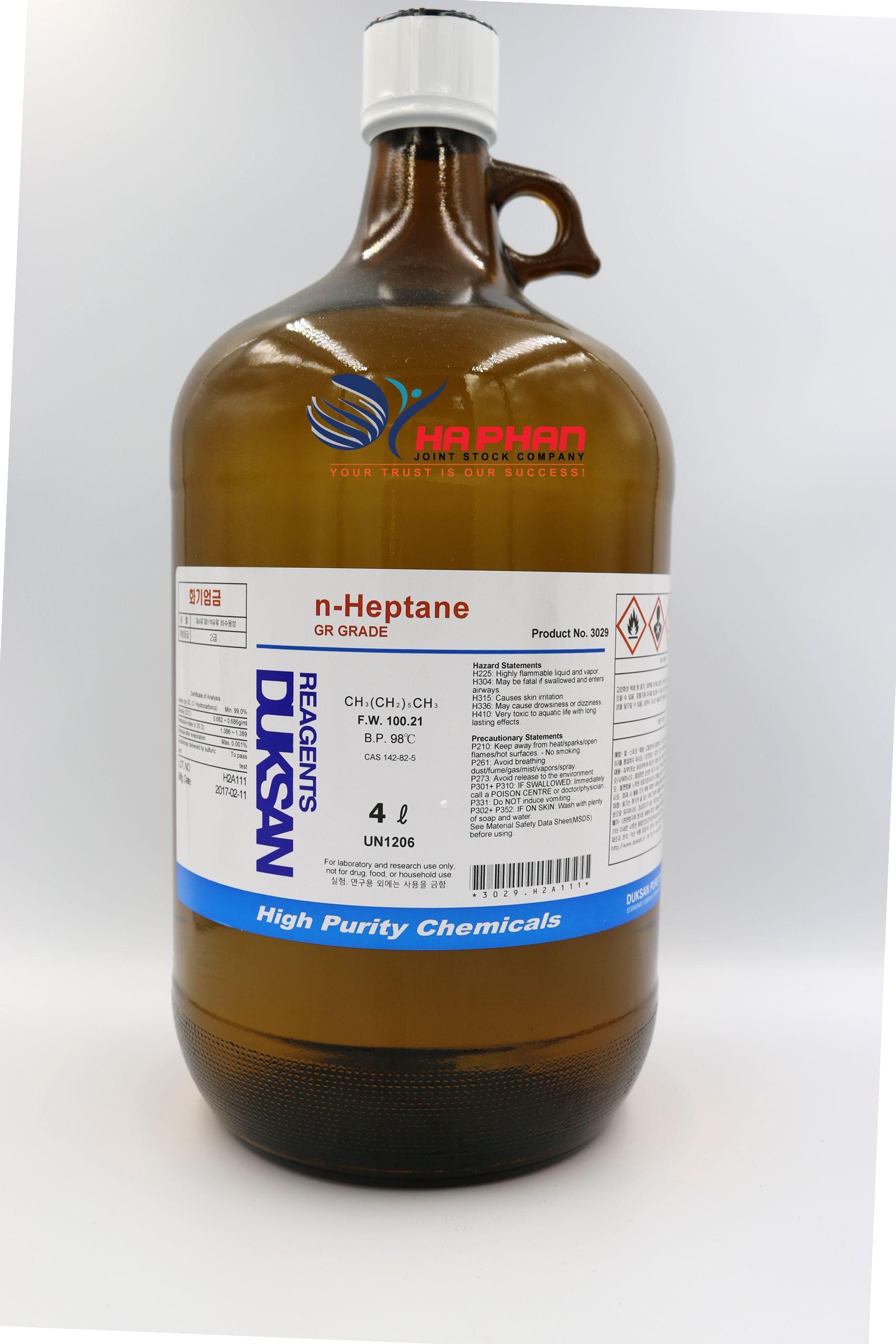 n-Heptane GR  DSP 4 ℓ