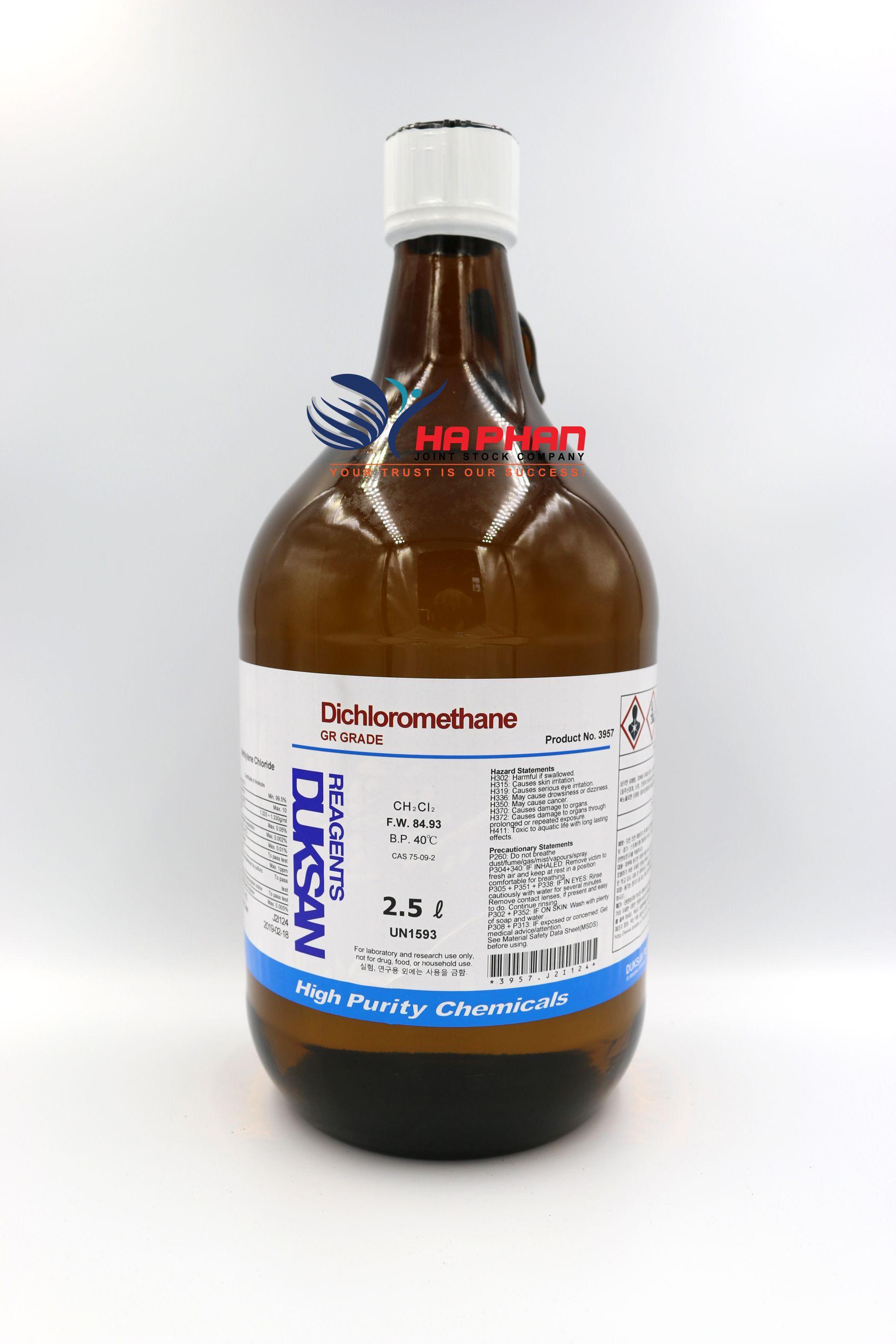 Methylene Chloride GR  DSP 2.5 ℓ